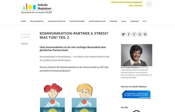 Coaching lebenshilfe seite 2 blogs50plus for Minimalismus blog familie